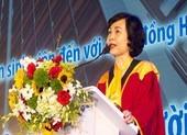 GS-TS Mai Hồng Quỳ thôi chức hiệu trưởng Trường ĐH Hoa Sen