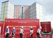 Xây dựng Quảng trường cột mốc chủ quyền Trường Sa ở KTX ĐHQG