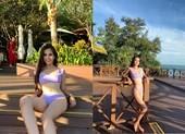 Tiểu Vy mặc bikini khoe cơ bụng tại Miss World 2018