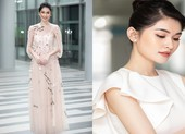 Á hậu Thùy Dung diện váy trắng khoe vẻ đẹp thanh lịch