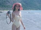 Hoa hậu Lương Thùy Linh khoe dáng bikini ở Côn Đảo