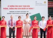 Hoa hậu Lương Thùy Linh tuyên truyền phòng chống mua bán người