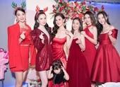 Dàn hậu quy tụ mừng kỷ niệm 5 năm ngày cưới Á hậu Diễm Trang