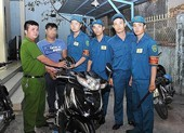 Công an quận 4 tìm chủ sở hữu của gần 100 xe máy