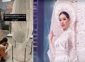 Stylist của Hoa hậu Khánh Vân nói về sự cố trang phục dân tộc