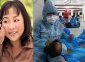 Diễn viên Kim Đào nhắn gửi xúc động từ bệnh viện Dã chiến