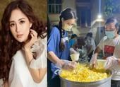 Mai Phương Thúy giản dị cùng nghệ sĩ làm tình nguyện viên chống dịch