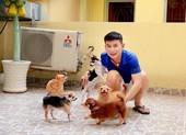 Nghệ sĩ TP.HCM chia sẻ khoảnh khắc bình dị bên những chú chó cưng