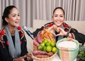 H'Hen Niê livestream bán khoai lang, gạo giúp bà con bằng wifi nhà hàng xóm