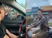 Nhân vật trong clip 'chặn ô tô xin đểu' ở Tân Bình lên tiếng