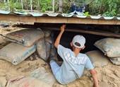 Quảng Nam: Người dân làm hầm tránh bão số 9