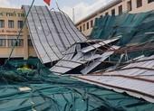 Quận 6: Gió lốc gây tan hoang trường THPT Bình Phú