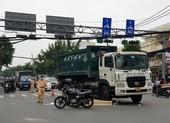 Người đàn ông bị xe rác cán chết tại giao lộ ở quận Gò Vấp