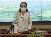 Bà Nguyễn Thị Lệ chỉ đạo công tác bầu cử tại TP Thủ Đức