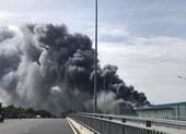 Công an TP.HCM điều tra vụ cháy Công ty thực phẩm tại Nhà Bè