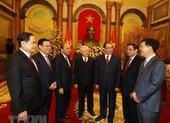 Tổng bí thư, Chủ tịch nước chúc tết lãnh đạo, nguyên lãnh đạo