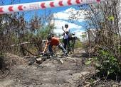 Bình Thuận: 1 thi thể bị đốt cháy chỉ còn xương