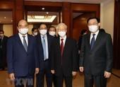Chùm ảnh: Khai mạc hội nghị lần thứ tư BCH Trung ương Đảng khóa XIII