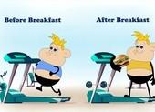 Có nên tập thể dục trước khi ăn sáng?