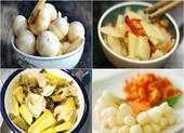 Những món ăn chứa nhiều muối không tốt cho sức khỏe
