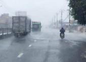 Nhiều tỉnh ở Nam Bộ có mưa nhiều nơi do ảnh hưởng của bão