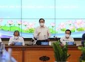 Thủ tướng Phạm Minh Chính làm việc với TP.HCM