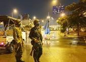 Lực lượng quân đội cùng tham gia túc trực các chốt kiểm soát dịch