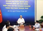 Chủ tịch nước: Từng bước nới giãn cách, giúp TP.HCM phục hồi kinh tế