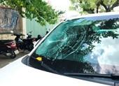 Nghi ngáo đá đập ô tô ngay Trung tâm hành chính Đà Nẵng