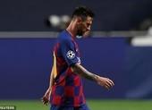 Messi tuyên bố muốn rời Barcelona ngay lập tức