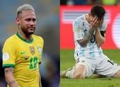 Chùm ảnh: Messi quỵ gối ôm mặt xúc động, Neymar khóc nức nở