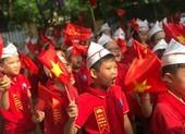 Rộn ràng lễ khai giảng không bóng bay ở Hà Nội