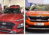 So sánh giá lăn bánh hai đối thủ Kia Seltos và Hyundai Kona