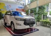 Bảng giá xe Toyota tháng 10: mẫu rẻ nhất chỉ 352 triệu đồng