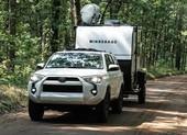 Một chiếc xe kéo du lịch thách thức mọi chuyến cắm trại
