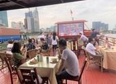 Cháy vé đón năm mới du thuyền 5 sao trên sông Sài Gòn