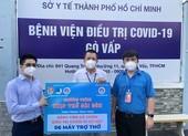 Hội doanh nhân trẻ TP.HCM tặng thêm máy thở cho các bệnh viện dã chiến