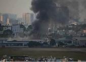 Cháy kho hàng ở khu vực sân bay Tân Sơn Nhất