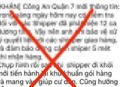 Sự thật về thông tin 12 Shipper dương tính COVID tại quận 7