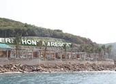 Nhiều công trình xây dựng không phép trên đảo Hòn Tằm