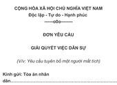 Đại gia Minh Nhựa yêu cầu tòa tuyên bố 'vợ mất tích theo luật'