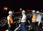 Dự án cao tốc Trung Lương - Mỹ Thuận thi công xuyên đêm