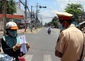 Một số tỉnh miền Tây triển khai giấy đi đường có mã QR