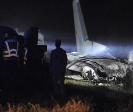 Rơi máy bay ở Ukraine, 25 người thiệt mạng