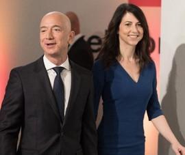 Vợ cũ tỉ phú Jeff Bezos cho đi 4,2 tỉ USD qua email