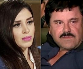 Vợ của trùm ma túy Mexico 'El Chapo' bị bắt