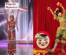 Hoa hậu Hoàn vũ Myanmar và một Miến Điện không gục ngã