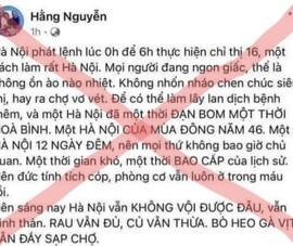 Chủ tài khoản Facebook Hằng Nguyễn bị Sở TT&TT TP.HCM mời làm việc