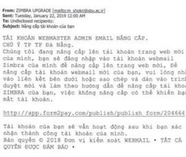 Thư lừa đảo tấn công email công vụ của TP Đà Nẵng