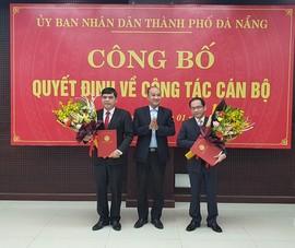 Đà Nẵng có 2 tân giám đốc sở